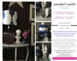 Christmas Open Day Flyer